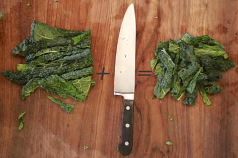 chop-kale