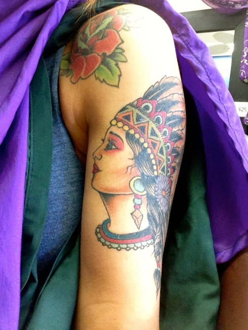 indian-princess-tattoo